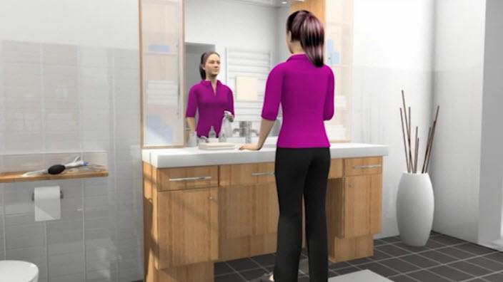 Instructivo Speedicath Mujer en Silla